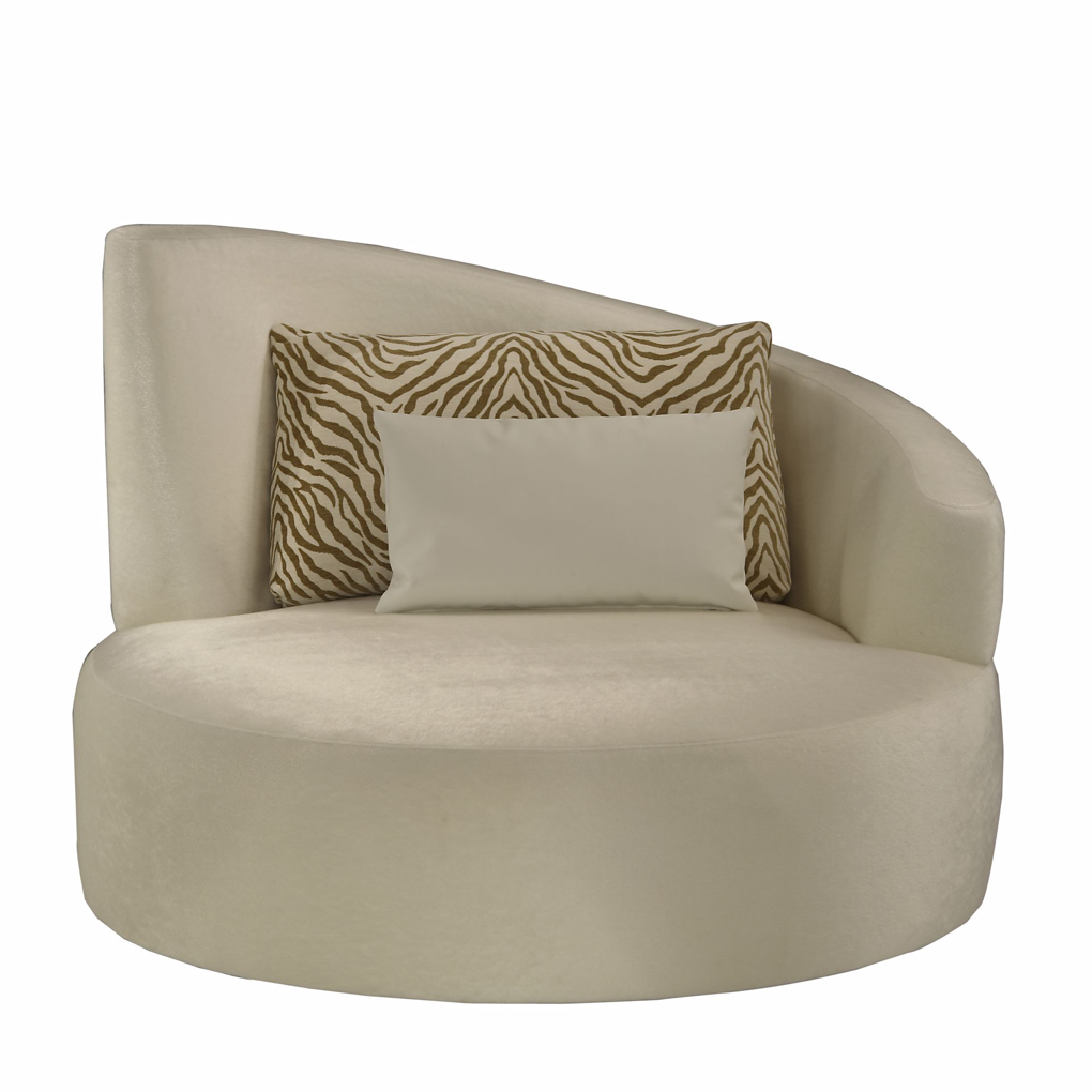 Picture of SIAMESE RAF SWIVEL LOUNGE CHAIR